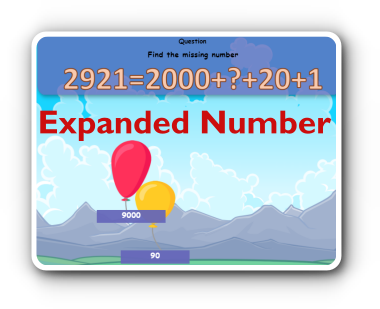 expanded notation of numbers game thumbnail