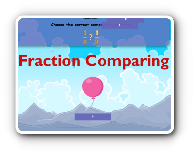 fraction comparing game thumbnail
