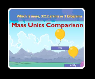 mass units comparison game thumbnail