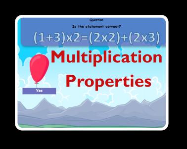 multiplication properties games thumbnail