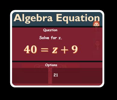algebra 1 equation game thumbnail