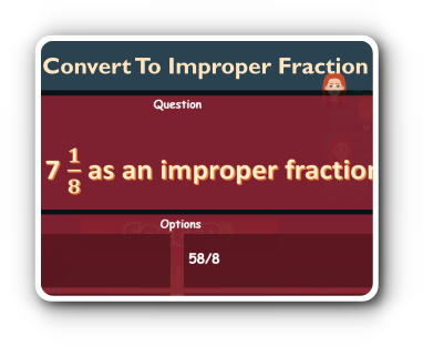 convert fractions to mixed number games thumbnail