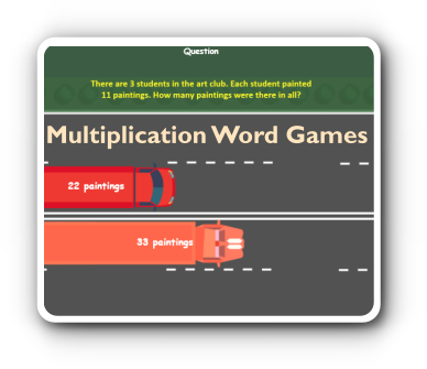 word-problems multiplication game thumbnail