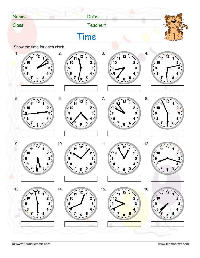 Time 1 Minute Past