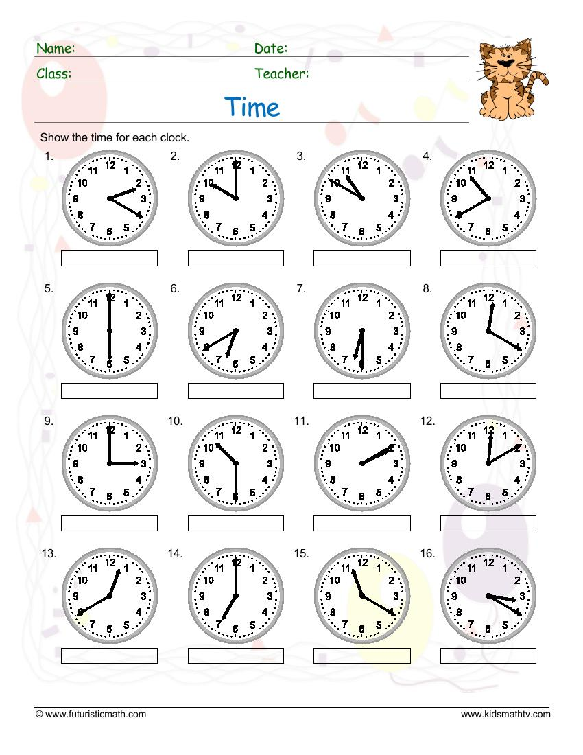 Time 10 Minute Past