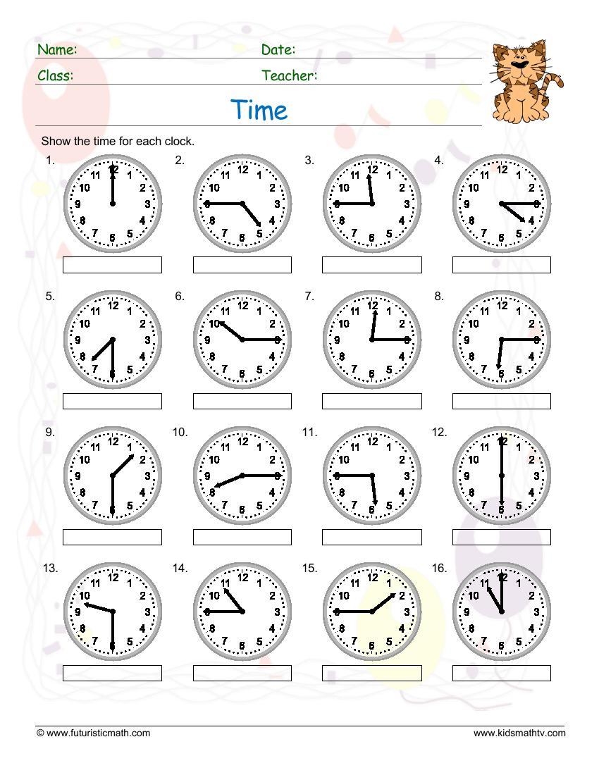 Time 15 Minutes Past
