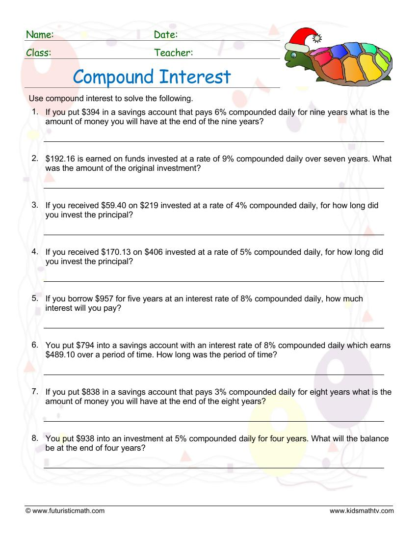 Compound Interest Daily