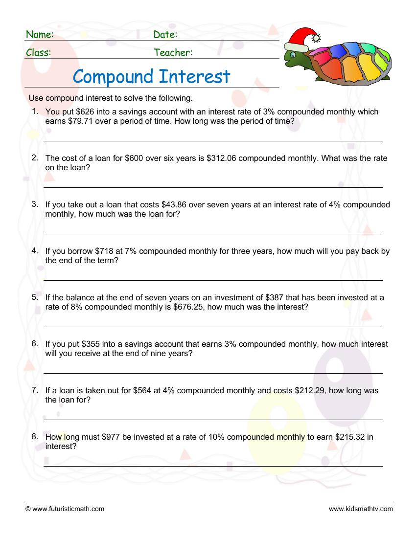 Compound Interest Monthly