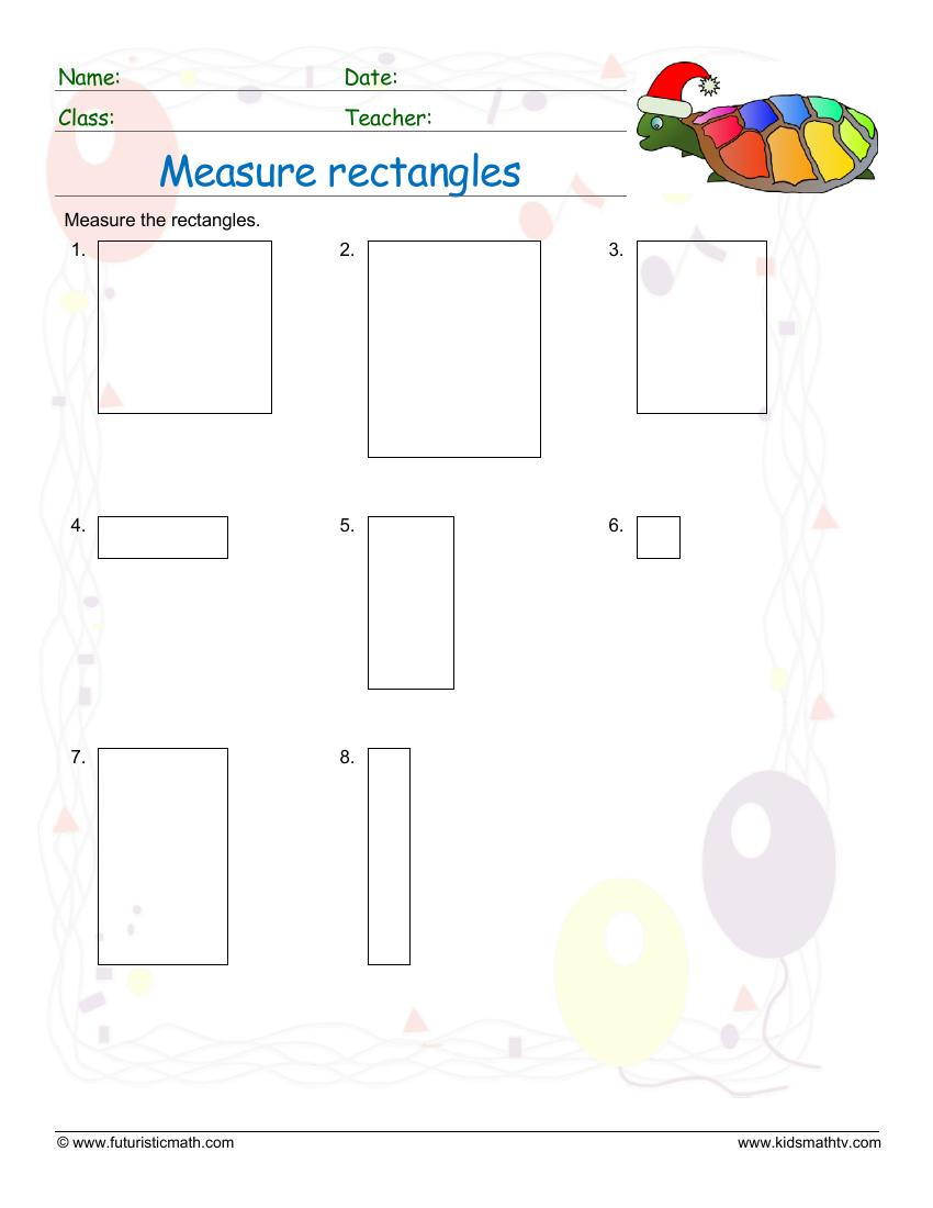 Measure Rectangles