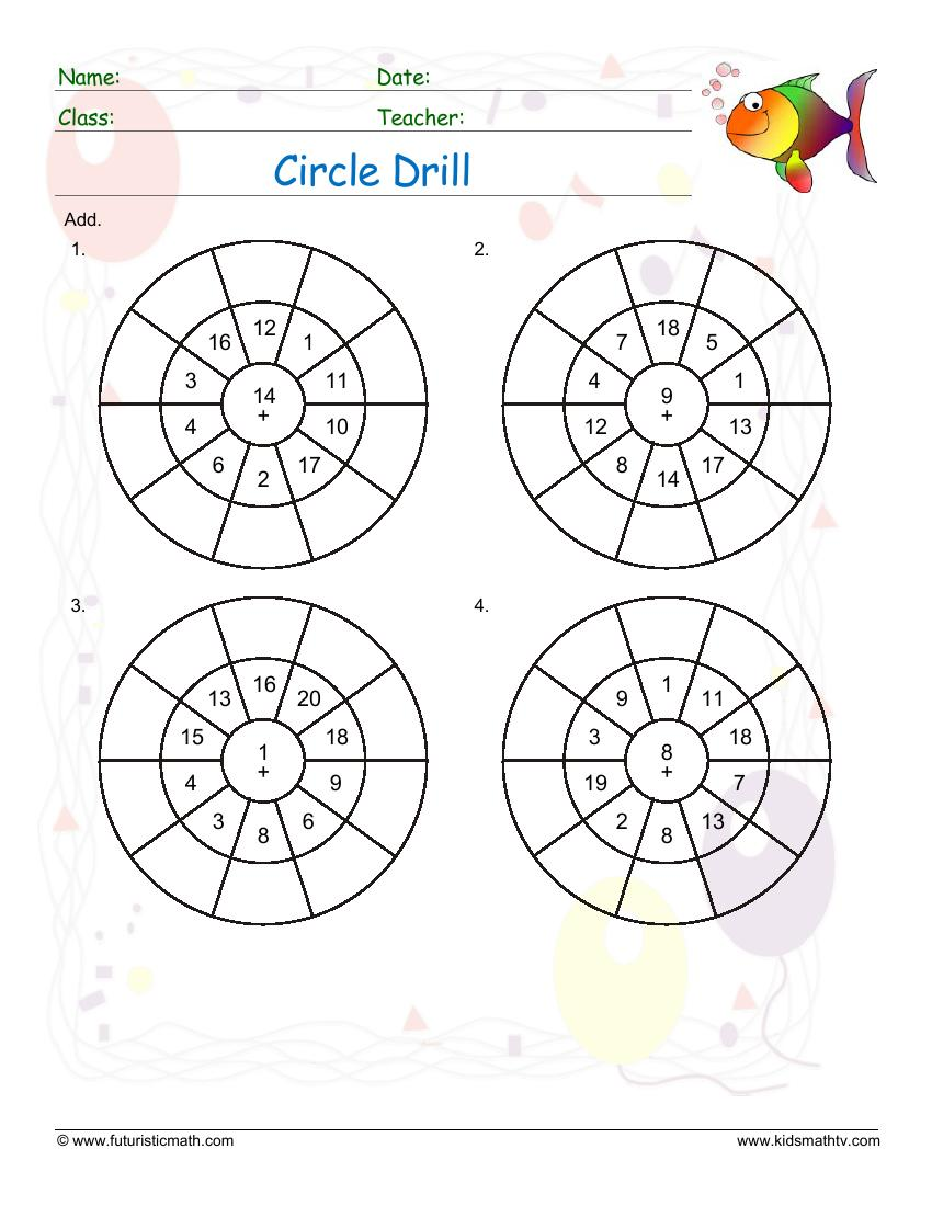 Circle Drill Addition