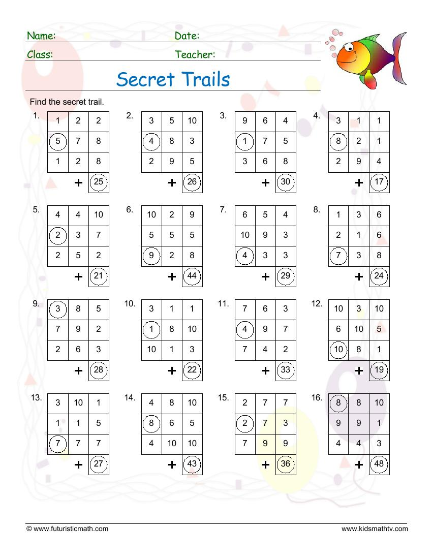 Secret Trails Addition