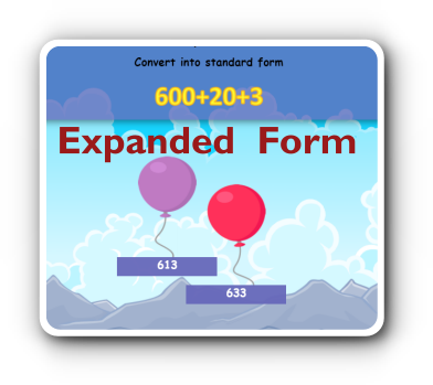 expanded numbers